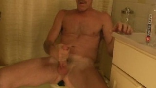 Daddy Jessee Jerking His Long Cock