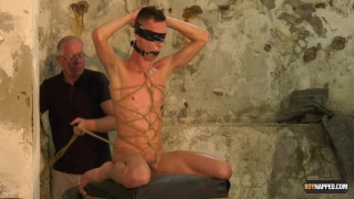 An Incredible Load Stroked From The Captive with Max London