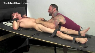 26-year-old straight boy Damian's Tickle Torture