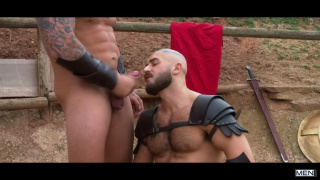 Sacred Band Of Thebes with Francois Sagat & Ryan Bones