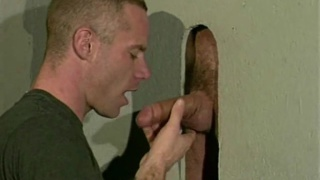 Glory Hole blowjob