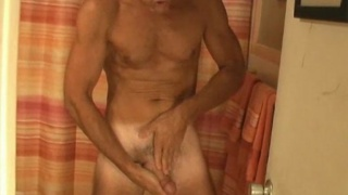 Mature man Blake Jerking Off