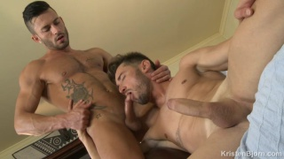 Andy Star flip-fucks with newcomer Marcos Oliveira