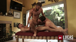 daddy fucking with MANUEL SKYE, JEFFREY LLOYD & DRAKE ROGERS