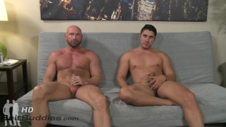 bald guy Killian fucks latino boy Adrian Suarez