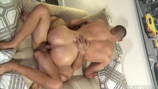 Big Muscle For Big Cock with Joe Parker fucking Jaxx Thanatos