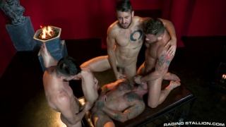 the night riders with Woody Fox, Sean Duran, Riley Mitchel & Dante Colle