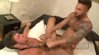 Jonathan Agassi and Scott Carter in After Hours