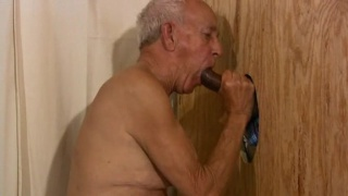 Daddy Sucking Black Cock