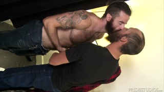 Big Dick For Sexy Accent with Dustin Steele fucking Brendan Patrick