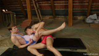 naked wrestling with Axel Green vs. Alex Morgan