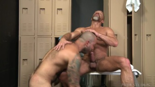 new gay with dirk caber & Julian Torres
