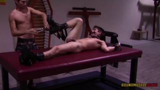 Whips and Chains, Part 4 at Bound Muscle Jocks