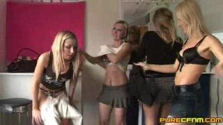 Girls changing room