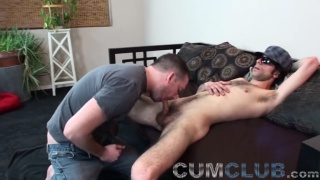 Swallow That Big Load with seth chase and straight guy rick