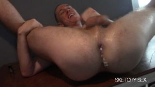 BINGE FUCKING with one horny cock pig