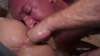 DAMIAN ARCA bottoms for SILVER STEELE at TIM Fuck