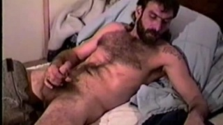 Hairy and rough workign man Alan