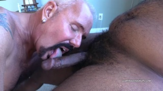 Sucking Off Masked Young Black Man