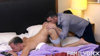 A Special Place In Daddy's Heart with Lance Hart fucking Logan Cross