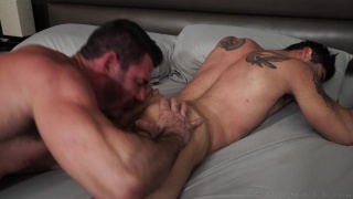 last resort with Lucas Leon bottoming for Billy Santoro