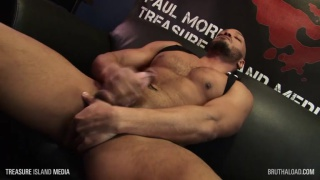 DILLON DIAZ shows off his hard body & jerks off
