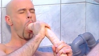 Jock Fucks His Own Ass