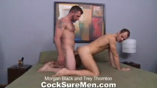 Morgan Black and Trey Thornton fuck