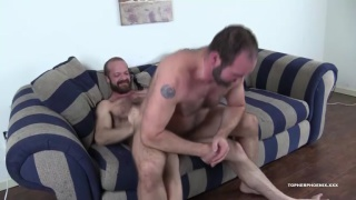 Topher Phoenix Flip fucks with MuscleBull