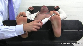 guy gets a revenge tickling session
