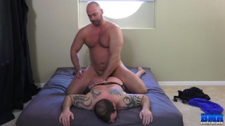 tyler Reed fucks Chip Young face down on the mattress