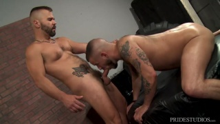 Service My Big Fat Cock with Sean Harding & Rencher Spence