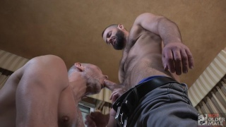 Clay Towers and Jake Morgan at Hot Older Male