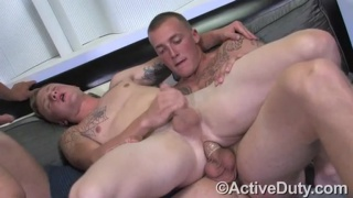 First Time Threeway Sex