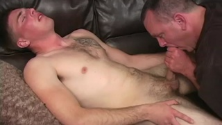 Str8 Marine's First Gay BJ