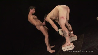 Hunks from Prague have some raunchy sex