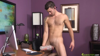 Hot Straight Guy Jacking Off