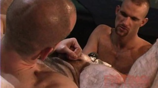 Hairy Ass Sling Scene Fisting
