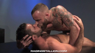 Derek Parker and Damien Stone