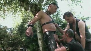 Naked and Chained Slave Punished