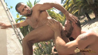 Outdoor Hairy Man Fuck