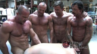 Meaty Muscle Group Sex