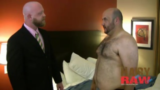 Hairy Men Barebacking