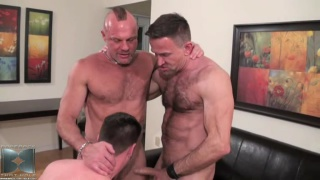 Anthony Todd, Matt Sizemore and Chad Brock