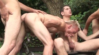 Euro Studs in Outdoor Threeway