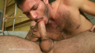 Daddy Stud Fucks Tatted Rocker