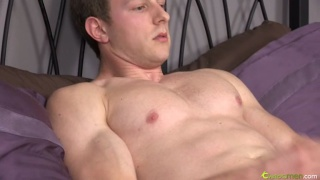 Hung Blond Cutie Jacking Off