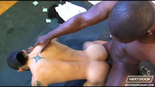 Derek Reynolds and Draven Torres in Trained and Banged