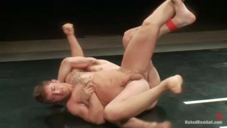 Naked Wrestling - Steve Sterling vs DJ