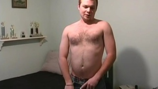 Red head college cub jerks off